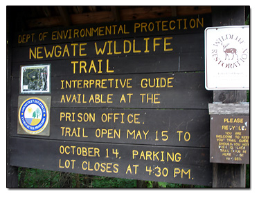 Newgate Prison Wildlife trail