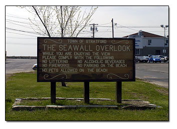 Stratford Seawall Overlook