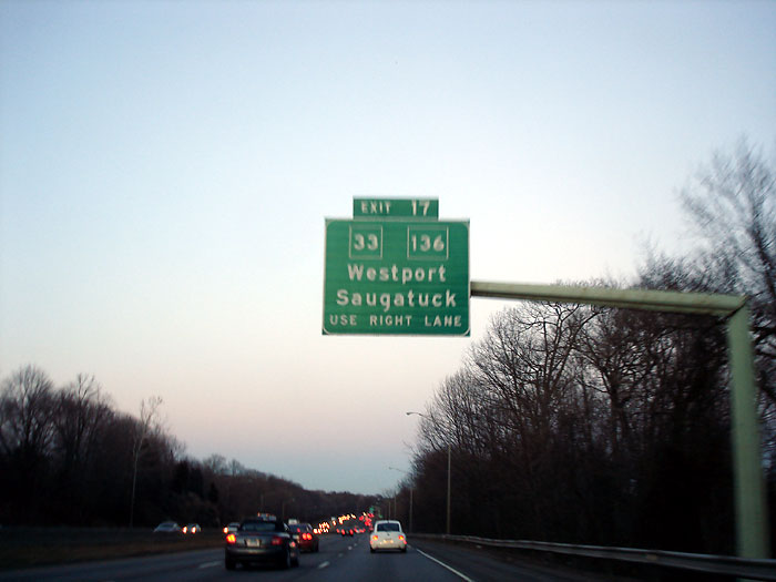 I 95 Exits - CT Interstate I95 East Exit Information