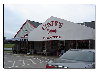 Custy's Lobster Buffet