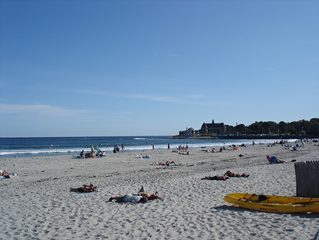 Narragansett beach view