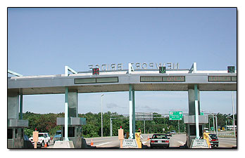 Newport Bridge Toll booth