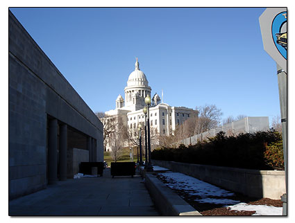 Providence capital building